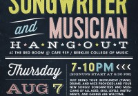boston songwriter musician hangout