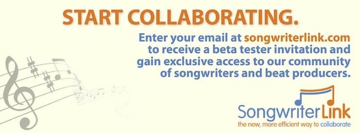 songwriterlink start collaborating blog