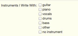 songwriterlink instruments
