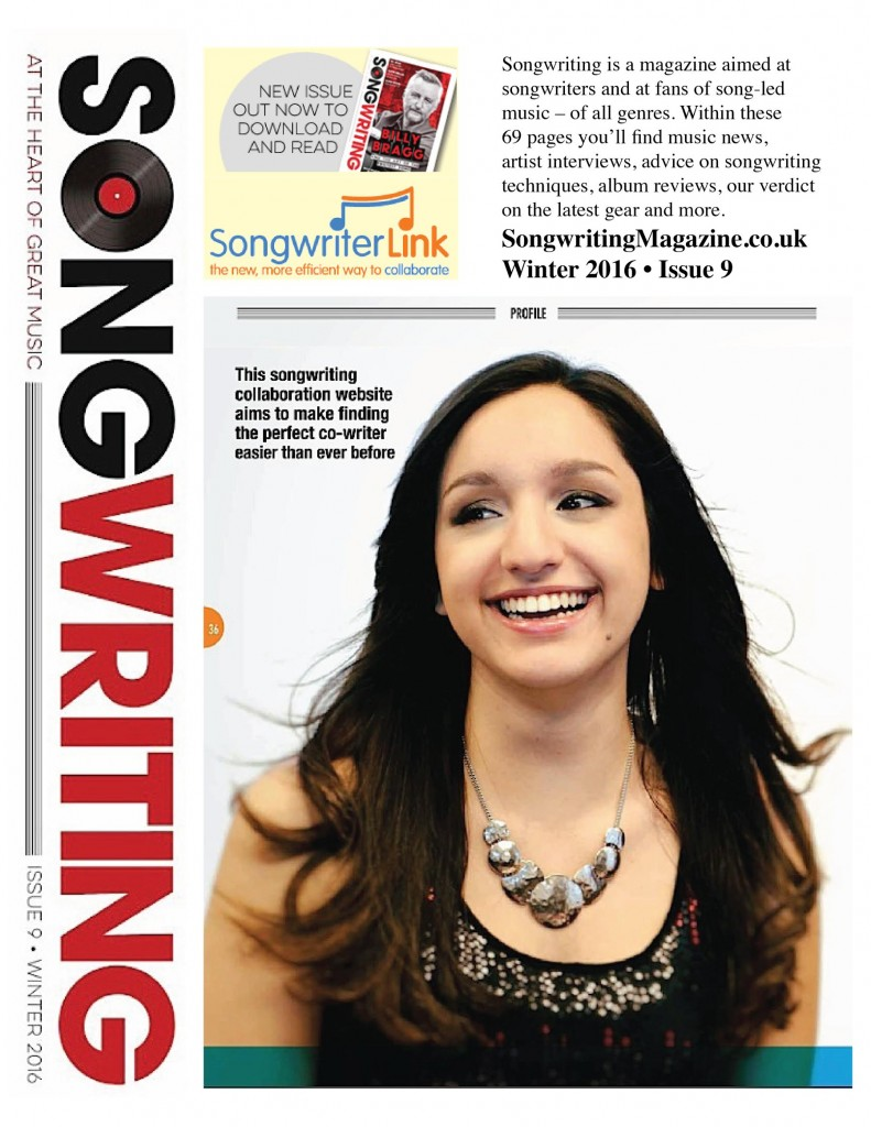 songwriterlink songwriting magazine feature